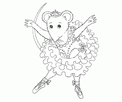 Small Picture coloring pages for kids ballet and ballerina coloring pages for