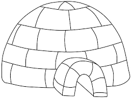 Small Picture Igloo Place Where Eskimo Take Shelter Coloring Pages Bulk Color