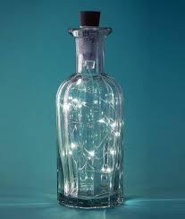 Usb Rechargeable Bottle Lights Waterproof Led String Bottle Light Usb Rechargeable Twin Pack