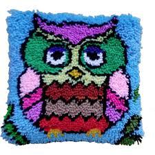 Latch Hook Designs Free Owl Latch Hook Kit