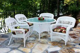 fantastic outdoor wicker patio