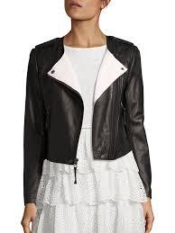 joie benicia leather moto jacket caviar women s jackets vests faux joie pants mariner joker premier fashion designer
