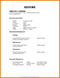 Modern References On Resume References On Resume Format 100