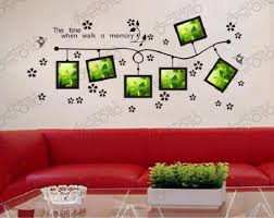word wall decorations memory photo frame wall art word stickers diy 3d house decoration best style