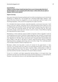 essay on cigarette smoking persuasive essay about smoking bans