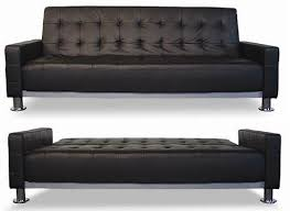 modern leather sofa bed.  Leather Brilliant Leather Sofa Bed IKEA Click Clack Chair  Modern For E