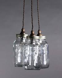 exciting glass jar pendant light mason jar chandelier