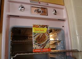 kitchen pink appliances