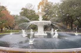 famous american architecture. Forsyth Park Fountain Famous American Architecture History Landmark In Historic District Of City Savannah,