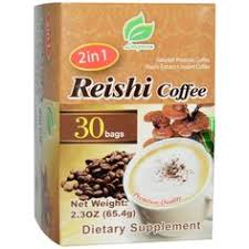 Longreen, <b>2 in 1 Reishi</b> Coffee, Reishi Mushroom & Coffee, 30 Bags ...