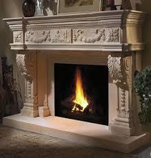 Hauteville Limestone Fireplace Mantel Beige Limestone From Italy Limestone Fireplace Mantels