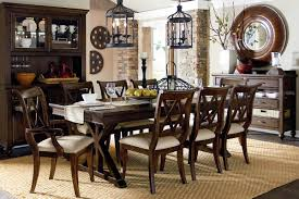 Round Glass And Wood Dining Table That Upgrade Home Dining Room - Dining room tables san antonio
