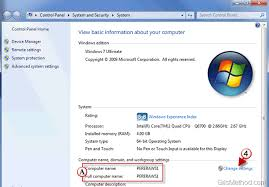 How To Change Your Computers Name In Windows 7 Gilsmethod Com