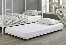 Alluring Steel Twin Trundle Bed Frame Only Plans Mattress ...