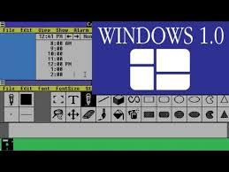 Windows 1 A Tour Of Windows 1 0 Software Showcase Youtube