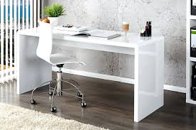 white glass top desk with drawers