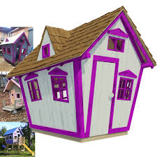 outdoor playhouse for kids