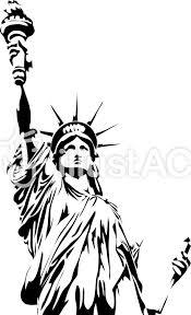 アメリカ 自由の女神イラスト No 1219908無料イラストなら