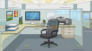 office cubicle clipart. Unique Clipart An Office Work Cubicle Background Cartoon Clipart And Vector Toons