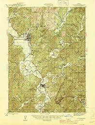Amazon Com Yellowmaps Coquille Or Topo Map 1 62500 Scale