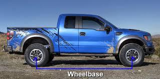 Ford F 150 Wheelbase Chart Ford Truck Van Suv Wheelbase Chart Blue Oval Trucks