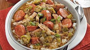 slow cooker en and sausage gumbo