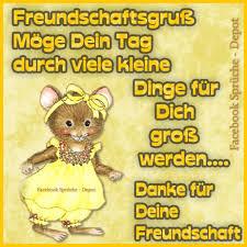 Freundschaftsgruß Möge Dein Tag Durch Viele Kleine Dinge