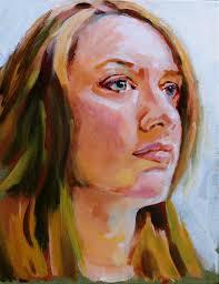 last week s lobenberg acrylic portrait work
