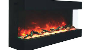 real flame electric fireplace insert firebox fireplaces 4099