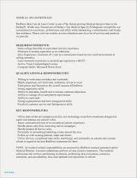 Medical Esthetician Resume Examples Free Resume Examples