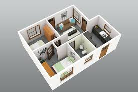 3d 2 bedroom house plans best bedroom small house plans 2 bedroom house designs 2 home