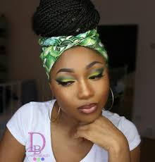 african wedding makeup