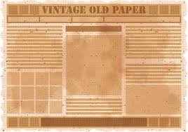 Editable Old Newspaper Template Old Newspaper Free Vector Art 1 608 Free Downloads