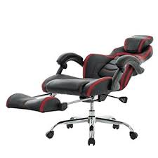 office reclining chair. VIVA OFFICE Fashionable High Back Bonded Leather Racing Style Recliner Gaming Chair With Footrest Office Reclining L