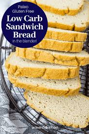 This is the only keto bread recipe you'll ever need. Low Carb Bread Gluten Free And Paleo Sandwich Bread Made In The Blender A Clean Bake