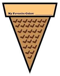 empty ice cream cone coloring page. Fine Cream Ice Cream Pictures To Color Empty Cone Coloring Page  Throughout Empty Ice Cream Cone Coloring Page M