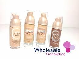 Wholesale Cosmetics 12 X Maybelline Dream Satin Liquid
