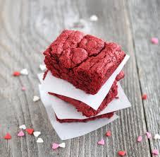red velvet cake texture. Red Velvet Brownies Cake Texture