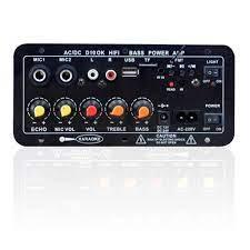 Bảng Mạch Loa Bluetooth 30-120w 220v / 12v / 24v - Amply và đầu chỉnh âm