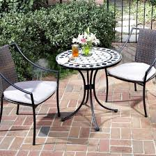 home styles marble mosaic bistro set hayneedle outdoor pub table sets uk and chairs bar counter height patio furniture dining with swivel wicker