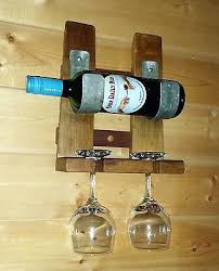 Wine Barrel Stave Coat Rack Wine Rack Wine Stave Coat Rack Whiskey Stave Wine Rack Reclaimed 88
