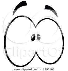 Small Picture scared eyes clipart scared eyes clipart royalty free rf clipart of