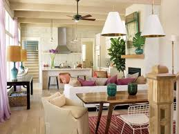 Structures Building Company  Tropical  Living Room  Charleston Open Living Room Dining Room Furniture Layout