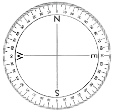 Compass Degrees Chart Circle Compass Drawing At Getdrawings Com Free For
