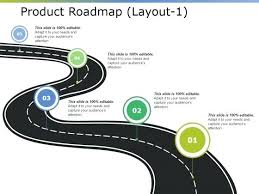 Tech Roadmap Template Product Template Presentation Slides