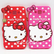 samsung galaxy s5 hello kitty cases. tracking number+cute polka dot hello kitty rubber soft silicone samsung galaxy s5 cases 5