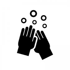 手洗いのシルエット02 無料のaipng白黒シルエットイラスト