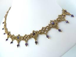 Free Beading Patterns To Download Interesting FREE Beading Pattern For Necklace Crystal Lace BeadDiagrams