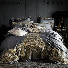 satin cotton bed linen