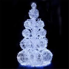 Ice White Led Christmas Lights 3d Large Cool White Tree Ball String Light For Christmas Outdoor Decoration Buy Large Outdoor Christmas Balls Lights Led Acrylic Outdoor Christmas